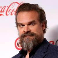 David Harbour's hair is totally weightless