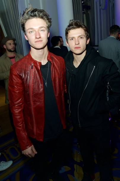 Harrison Osterfield and Tom Holland
