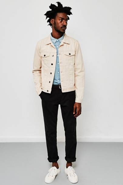 Idle Man off-white denim jacket
