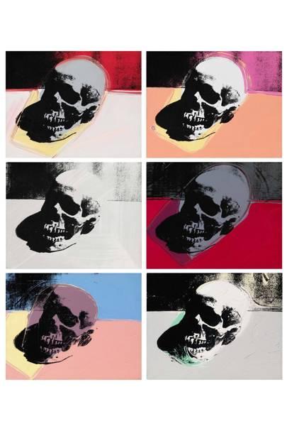 Andy Warhol, Skulls, 1976