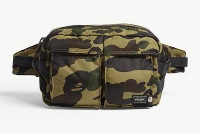Porter 1st Camo nylon bag by A Bathing Ape