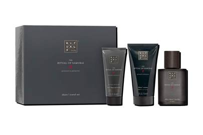 The Ritual Of Samurai Travel Shave Set and After Shave Refresh Gel by Rituals