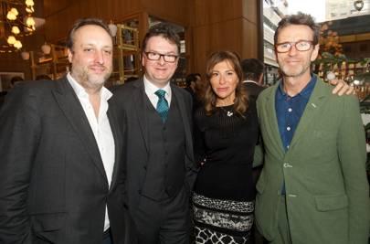 Matt Hobbs, Ewan Venters, Jo Vickers and Oliver Peyton