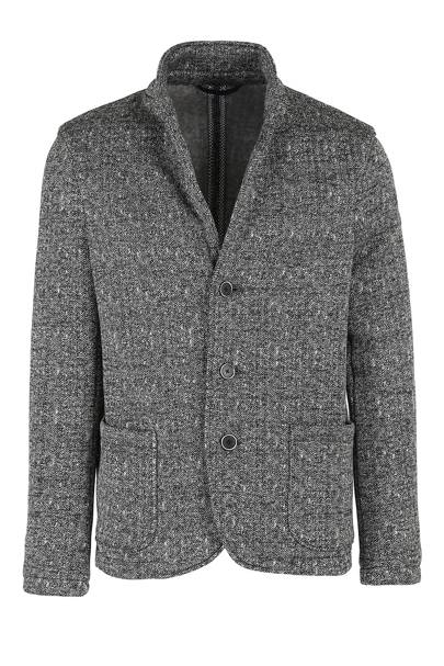 Woolrich Printed Pile blazer