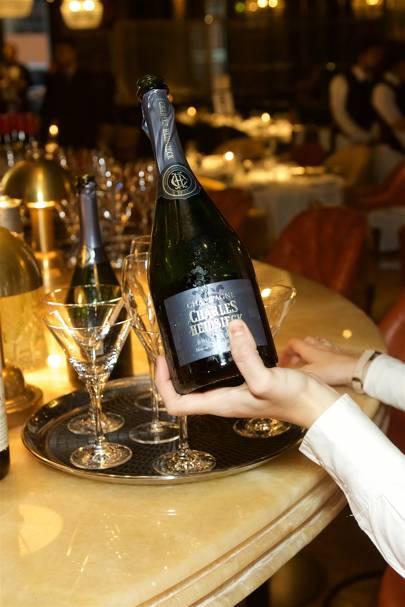 Charles Heidsieck champagne reception