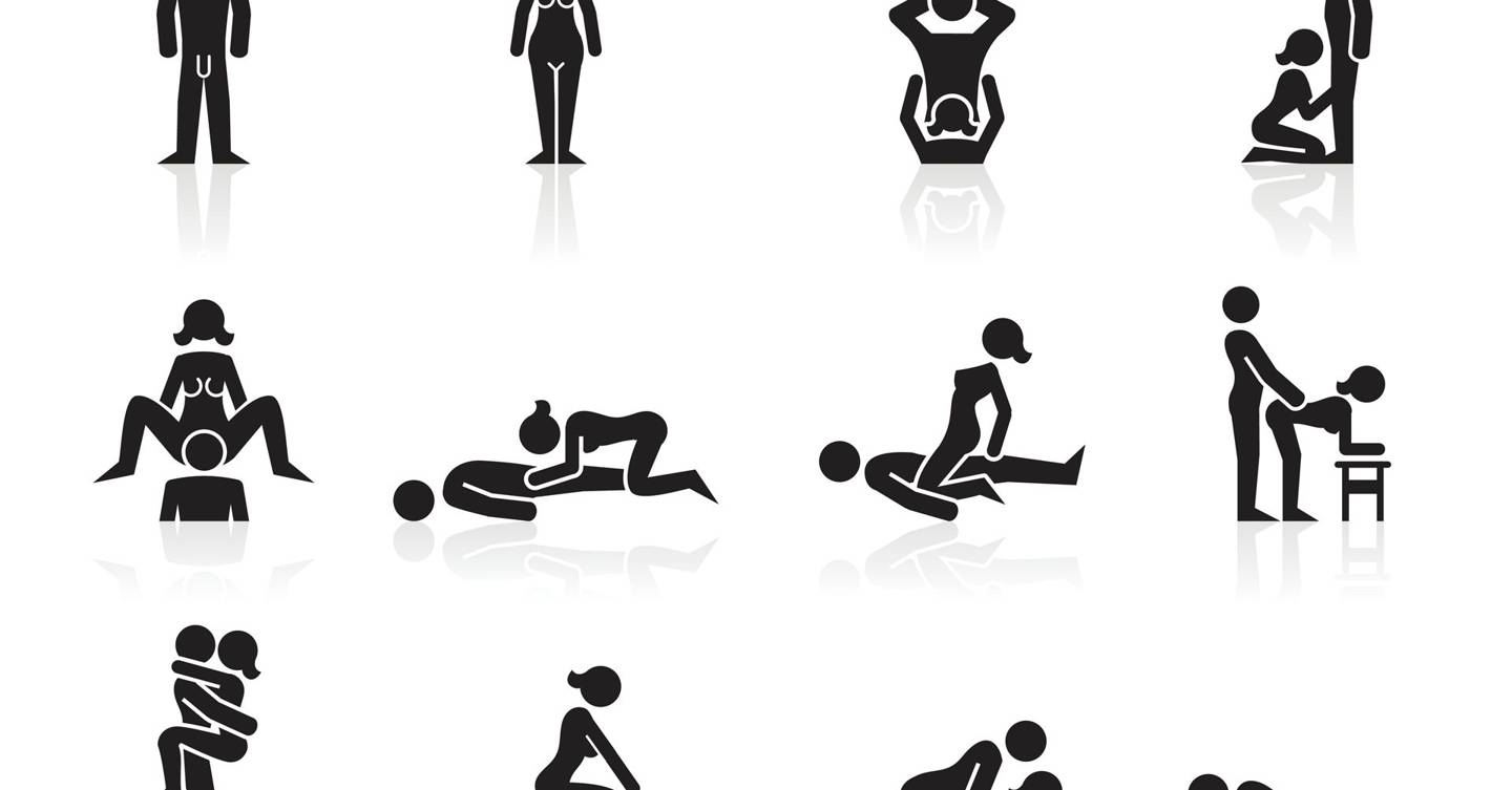 Different positions to try in bed