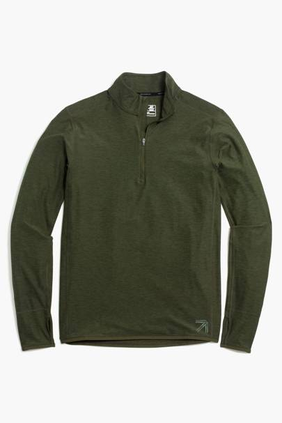New Balance for J Crew half-zip pullover