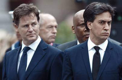 Politics and public life: Nick Clegg & Ed Miliband