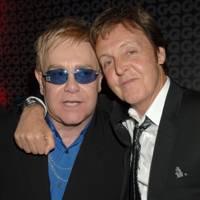 Elton John and Paul McCartney
