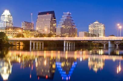 44. Direct flights to Austin