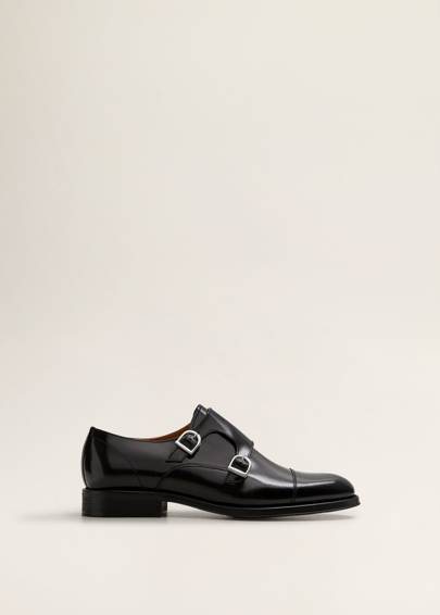 Monk shoes by Mango
