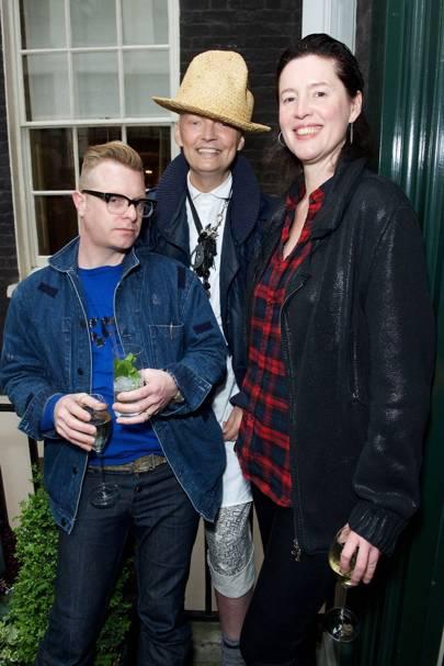 Sid Bryan, Joe Bates & Cozette McCreery