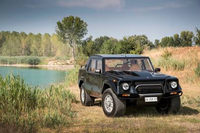 Lamborghini's LM002 was a luxury SUV with military appeal