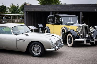 Aston Martin DB5 & Rolls-Royce Phantom III