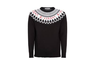 Fair isle jumper by Givenchy