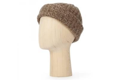 Lock & Co x Johnstons of Elgin 'Watchman' beanie hat