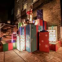 Granary Square Brasserie Christmas Installation