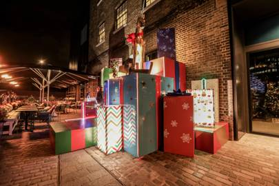 Granary Square Brasserie Christmas Installation