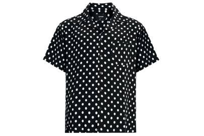 Polka dot Cuban shirt by Other