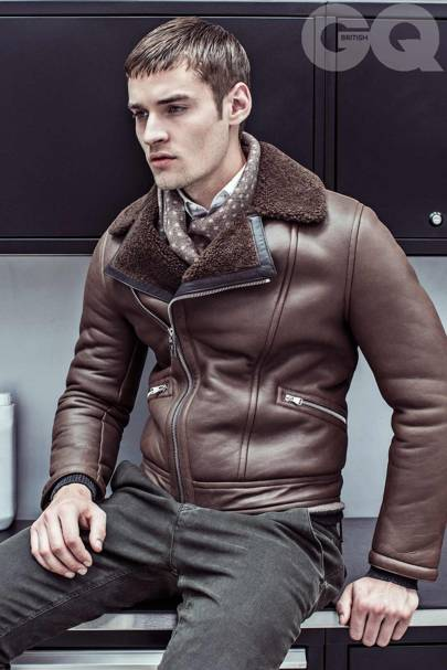 a586bbc9034b Men s leather jackets  how to look good in leather