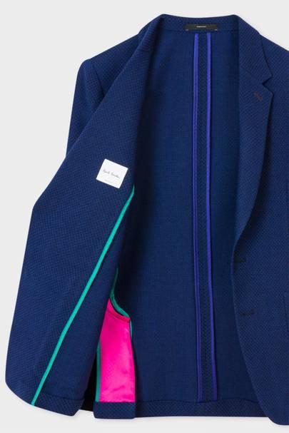 Paul Smith open-weave merino blazer