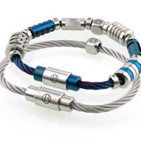 Cable™ Stainless Steel Bracelet by Bailey of Sheffield