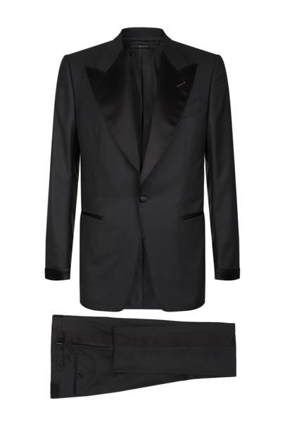 Shelton peak lapel tuxedo by Tom Ford