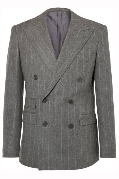 Douglas wool pinstripe jacket by Ralph Lauren Purple Label