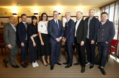 BFC/GQ Designer Menswear Fund 2016 judging panel