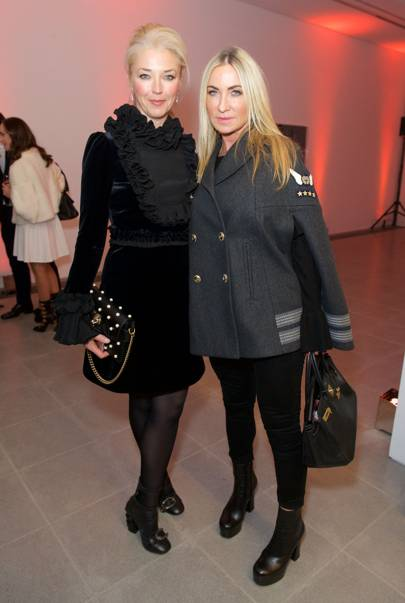 Tamara Beckwith and Meg Matthews