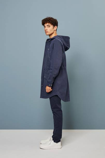 'Tipton' parka by Wax London