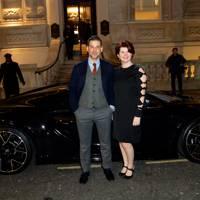 Paul Wilkinson and Helen Barbour