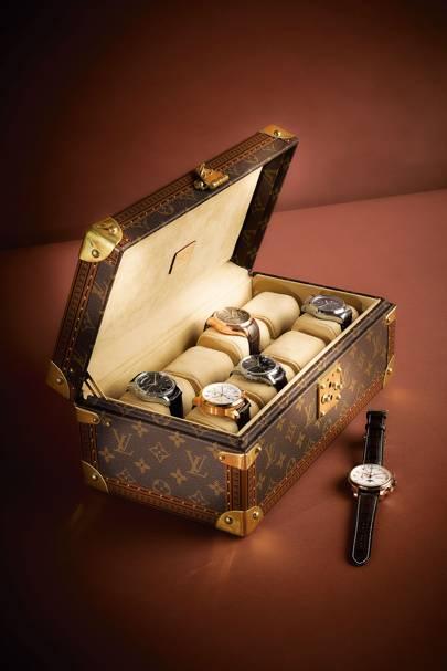 Watch box by Louis Vuitton