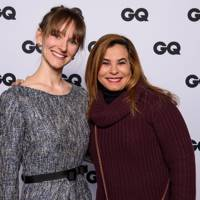 Katharina Brandes and Jill Brooks, Senior Account Manager, GQ Mexico & Latam