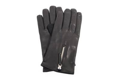 Want Les Essentiels De La Vie Mozart cashmere lined leather gloves