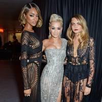 Jourdan Dunn, Rita Ora and Cara Delevingne