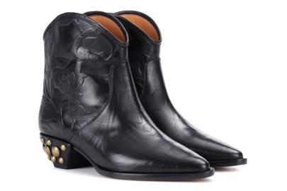 Isabel Marant, Dawina leather ankle boots