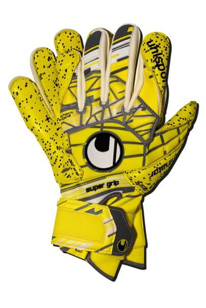 Eliminator Unlimited Supergrip gloves by Uhlsport