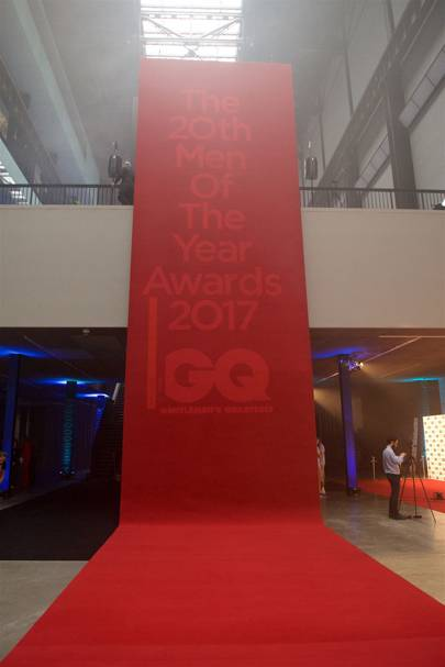 The GQ Men Of The Year Awards red carpet