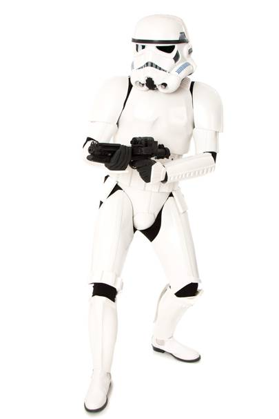 Stormtrooper replica suit