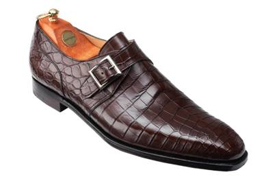 Monk Strap shoes by Crockett and Jones