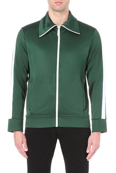 Burberry zip-up shell jacket