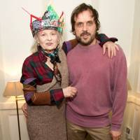 Dame Vivienne Westwood and Andreas Kronthaler