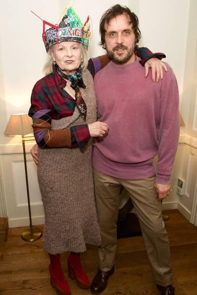 Dame Vivienne Westwood and Andreas Kronthaler