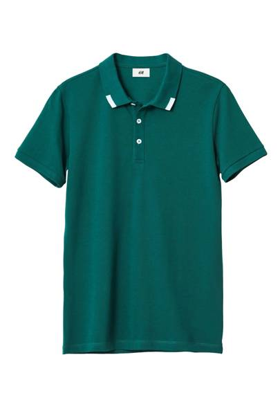 David Beckham H&M Modern Essentials polo shirt