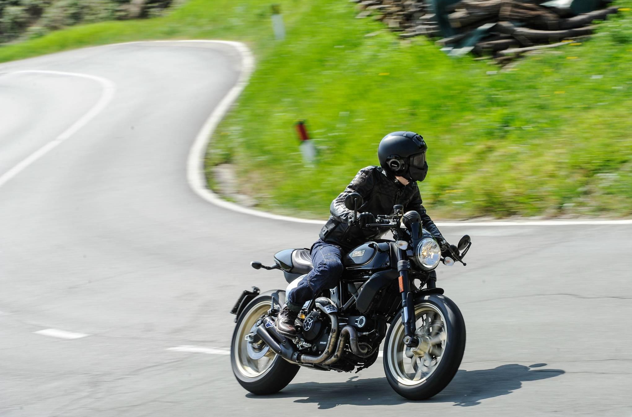Ducati Scrambler Café Racer Review British Gq
