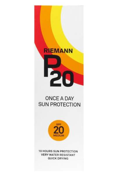 P20 Once A Day 10 Hours Sun Protection by Riemann