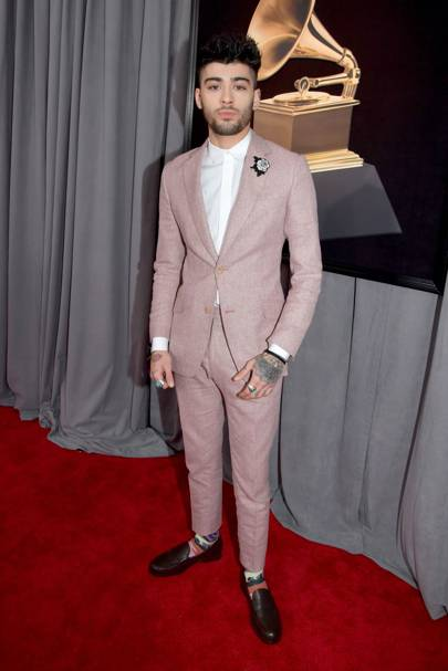 5) Pink tailoring is having a moment