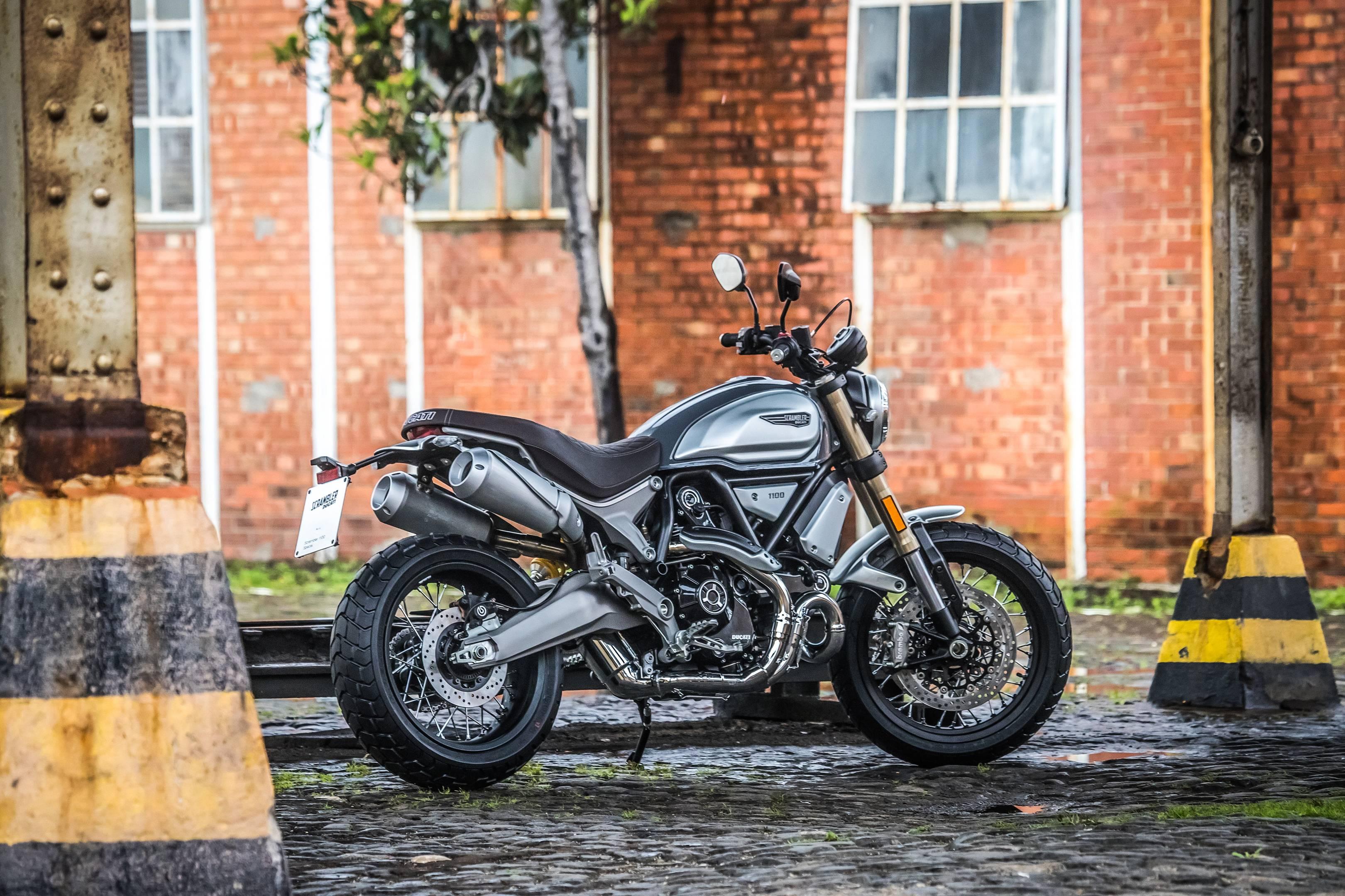 Ducati Scrambler 1100 Review British Gq