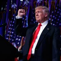 8 November 2016- Trump wins the election, becoming President-elect of the USA